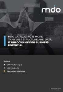 MRO Cataloging
